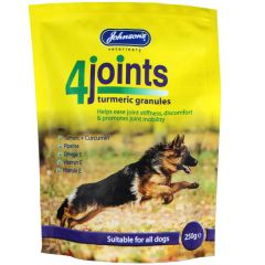 Johnsons Veterinary Products 4Joints Turmeric Granules 250g