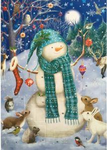 Glitter Advent Calendar - Jolly Snowman
