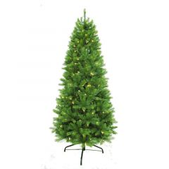 Puleo 6.5ft Kensington Fir Slim Pre-lit