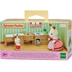 Sylvanian Families - Kitchen Stove, Sink & Counter Set