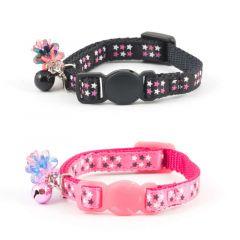 Ancol Star Safety Litten Collar - Pink/Black