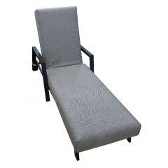 Bramblecrest La Rochelle Lounger With Cobble Cushions