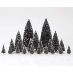 Lemax Pine Tree Assorted 21 Piece