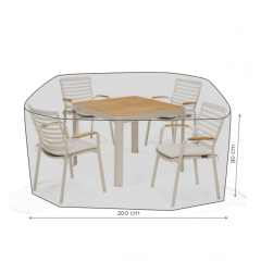 LifestyleGarden 4 Seat Square Dining Cover