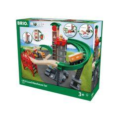 Lift and Load Warehouse Set - BRIO