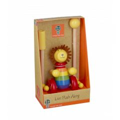 Lion Push Along - Orange Tree Toys