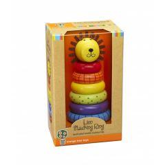 Lion Stacking Ring - Orange Tree Toys