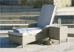 Chedworth Lounger & Coffee Table With Ceramic Top