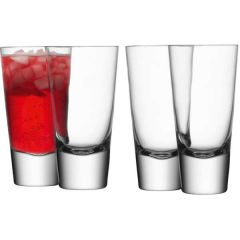 Long Mixer Glass 315ml Pack of 4 - LSA International