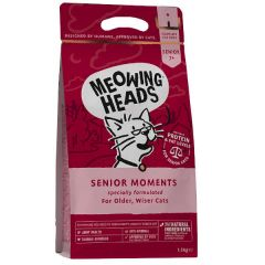 Meowing Heads Cat Senior Moments 1.5kg