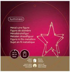 Kaemingk Micro LED Star Warm White 20L - 28cm