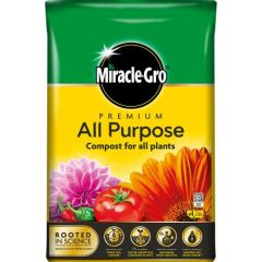 miracle-gro premium all purpose compost 40L bag