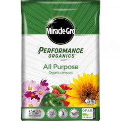 Miracle-Gro Performance Organics All Purpose Compost 40L