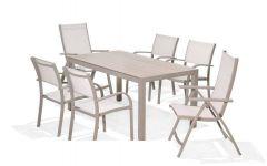 LifestyleGarden Morella 6 Seat Mixed Rectangle