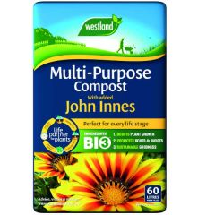 Westland multi-purpose compost with added john innes 60L bag