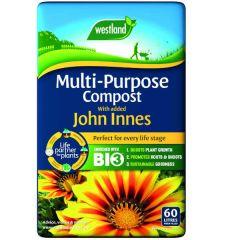 Westland multi-purpose compost with added john innes 60L bag