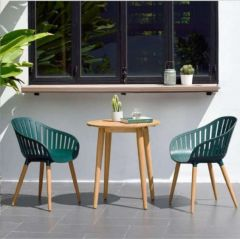 LifestyleGarden Nassau 66cm Bistro Set - Green