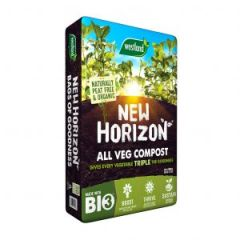 New Horizon naturally peat free & organic all veg compost 50L