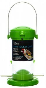 Tom Chambers Giant Flick 'N' Click Nyjer Feeder