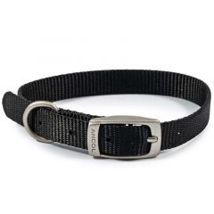 Ancol Viva Dog Collar Black - Size 1 (20-26cm)