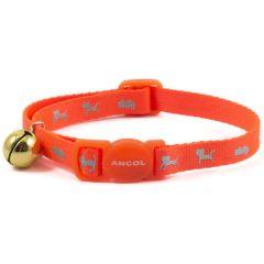 Ancol High Vis Cat Collar Orange