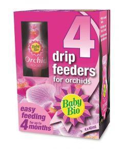 Baby Bio Orchid Drip Feeder - 4 Pack