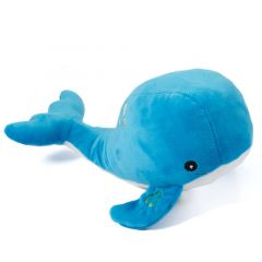 Ancol Oshi The Whale made From Cuddler - Dog Toy