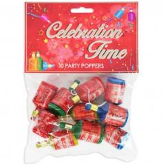 Party Poppers 10 Pack - RSW