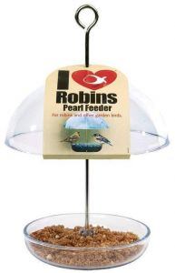 I Love Robins - Pearl Feeder