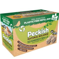 Peckish Natural Balance Energy Balls 50 Refill Box