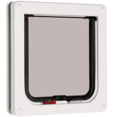 Pet Mate Cat Flap - White