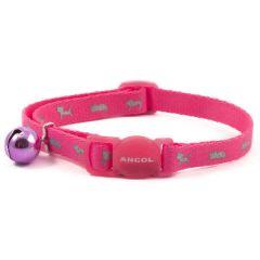 Ancol High Vis Cat Collar Pink