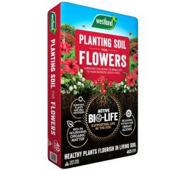 Westland Bio Life Planting Soil For Flowers 40L