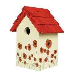 Poppy Bird House
