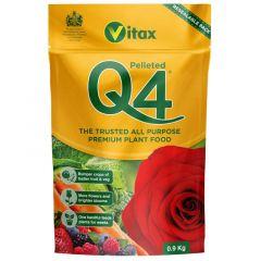 Vitax Q4 Pelleted (pouch) - 0.9kg