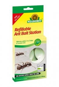 Neudorff Refillable Ant Bait Station - 2 Pack