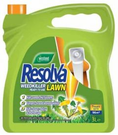 Westland Resolva Lawn Weed Killer - Ready to Use - 3L