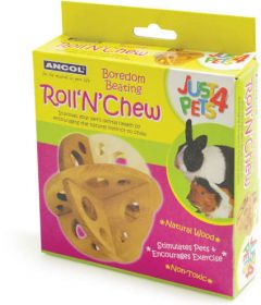 Ancol Wooden Roll 'n' Chew