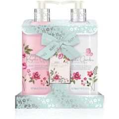 Baylis & Harding Royale Garden Rose, Poppy & Vanilla Hand Wash & Lotion Gift Set