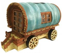 The Elvedon Collection - Gypsy Rose Caravan - Smart Solar