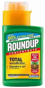 Round Up Concentrate - Total Weedkiller - 210ml