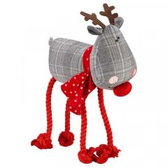 Rudolph Rope Legs Dog Toy