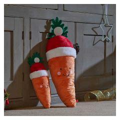 Santa Carrot Jumbo Dog Toy