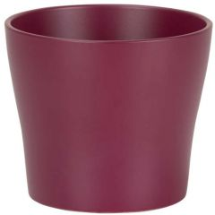 Scheurich Cover-Pot Burgundy 808/21