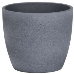 Scheurich Cover-Pot Dark Stone 920/16
