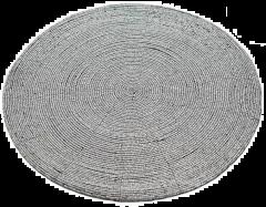 Perle Placemat - Silver  - 36CM