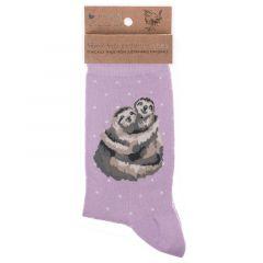 Wrendale 'Big Hugs' Sloth Bamboo Socks