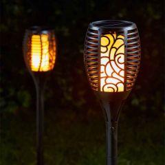 Solar Cool Flame Stake Light - Smart Solar