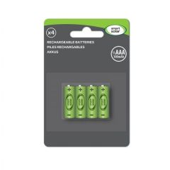 Smart Solar - Rechargeable Batteries - 2/3 AA - 4 Pack