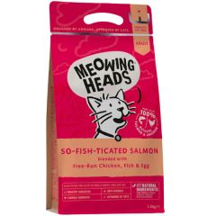 Meowing Heads So-Fish-Ticated Salmon 1.5kg